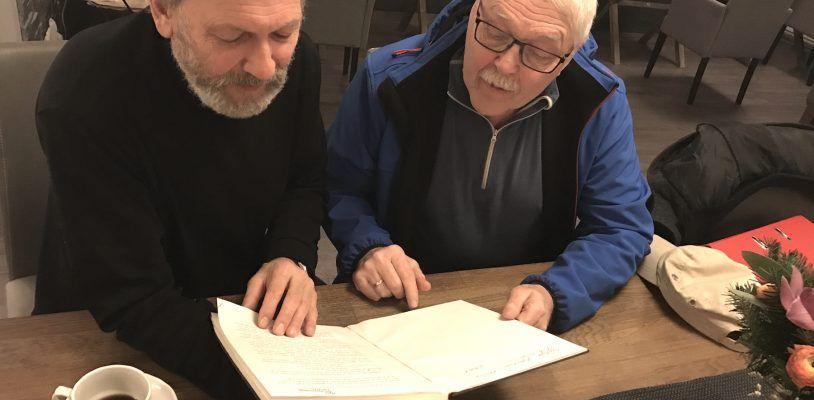 Skriver bok om Børre Hansen Langland