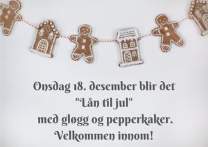 """""""Lån til jul"""""""
